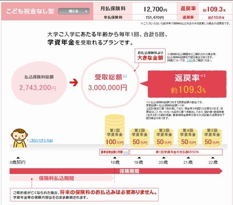 日本生命学資保険