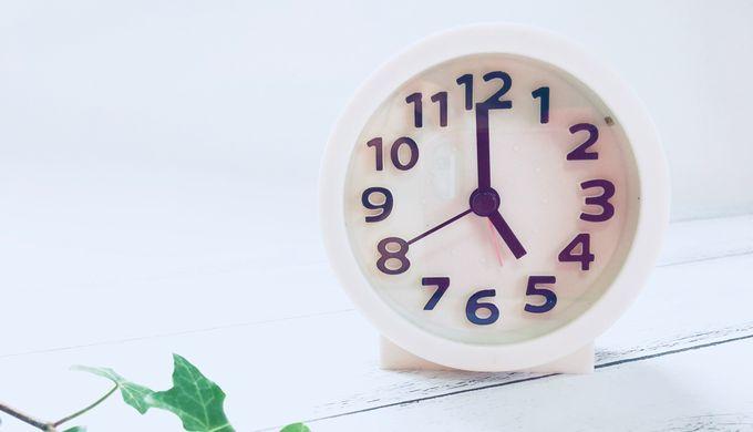 17時の時計