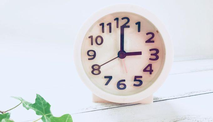 15時の時計