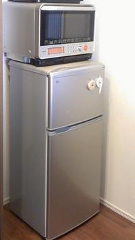以前使っていた一人ぐらし用冷蔵庫