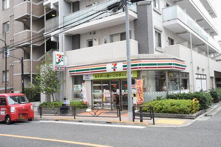 東都文京病院もよりのセブンイレブン