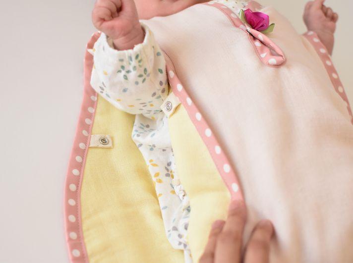 赤ちゃん用のガーゼスリーパー