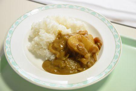東都文京病院産後ケアの食事病院食のカレー