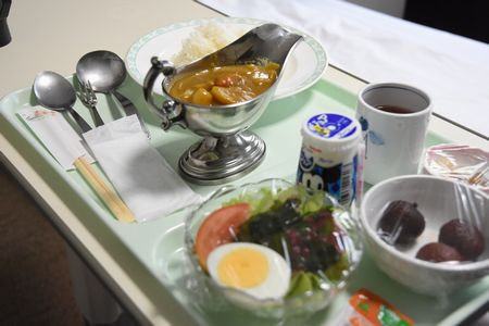 東都文京病院病院食のカレー