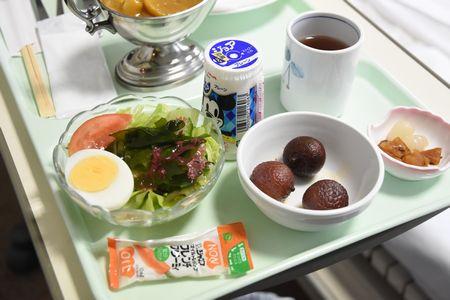 東都文京病院産後ケアの食事病院食のデザート
