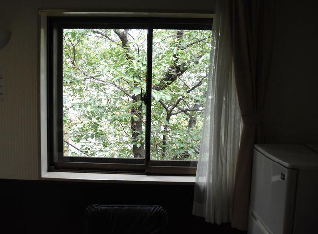 東都文京病院産後ケア病室の窓