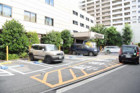 東都文京病院の駐車場