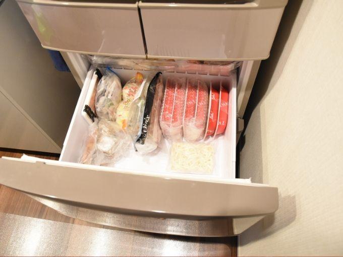ママの休食を冷凍庫に入れてみた
