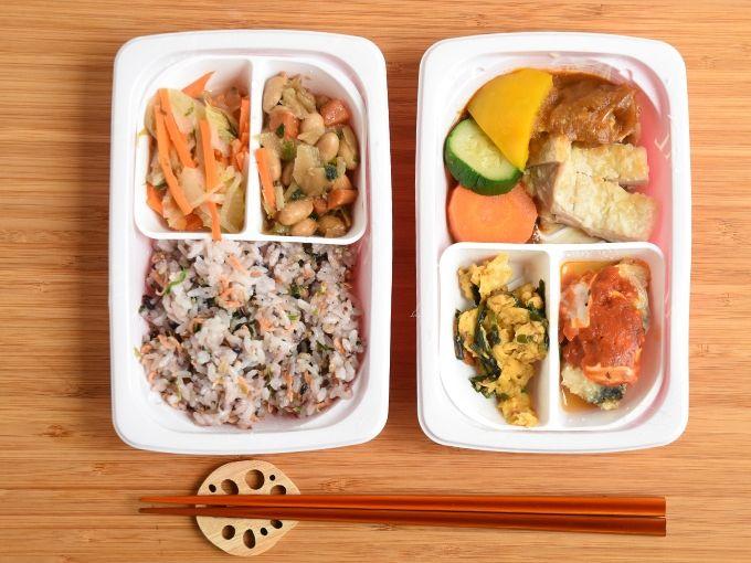 ママの休食グリルチキンと野菜カレーソース